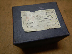 New Old Stock 4 Blank Jaws For Metal Lathe Chuck Possible German Made