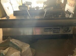 New Used Twice Ht300 Snow Dogg Plow Mount With Lighting Kit No Mount Included