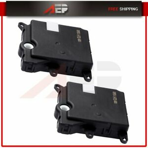 2pcs For 2003 06 Lincoln Navigator Ford Expedition Ac Heater Blend Door Actuator
