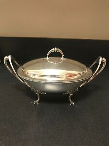 Early Gorham American Sterling Tureen 44 9 Troy Oz Early Coin Silver