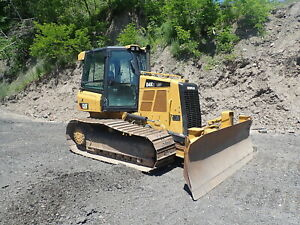 2016 Caterpillar D4k2 Lgp Crawler Dozer 1600 Hours Erops A c D4k 6 Way Cat