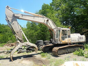 John Deere 892e Lc Hydraulic Excavator Runs Mint Rock Grapple 892 Long Track