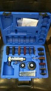 Blue Point At109dgk Right angle Mini Air Die Grinder Kit W Case Brand New