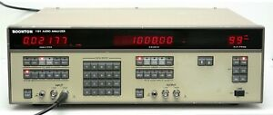 Boonton Electronics 1121 Audio Analyzer 10hz 200khz