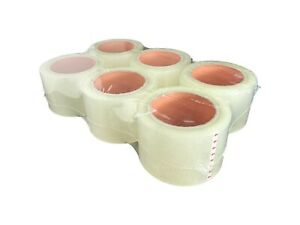 36 Refill Rolls heavy Duty Clear Packing Tape For Moving shipping Office