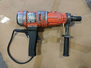 Weka Core Bore Dk16 Made In Germany 3 Speed Hand Held Core Drill