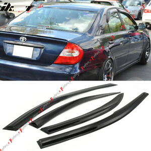 For 2002 2006 Toyota Camry Window Visors Rain Guard Vent Sun Shade Deflector 4x