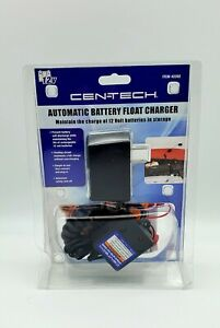New Centech Automatic Battery Float Charger Car Motorcycle Atv Snowmobile 12v