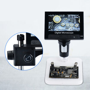 1suit 4 3 1000x Hd Lcd Monitor Electronic Digital Video Microscope Led Magnifier