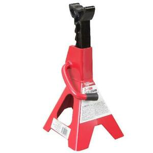 2 Ton Jack Stand Single Unit Red Black
