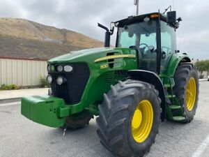 John Deere 7630 Loaded Tractor 175 Hp 4wd Very Clea Ac Ex California City