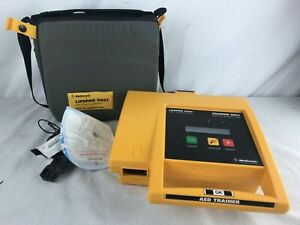 Medtronic Lifepak 500t Training Aed System Battery Case Remote no Pads