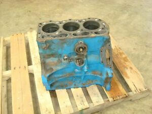 1976 Ford 3600 Tractor Gas Engine Block