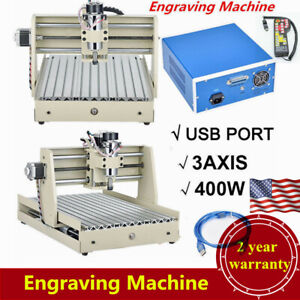 400w 3 Axis Usb 3040 Router Engraver Wood Engraving Milling Machine controller