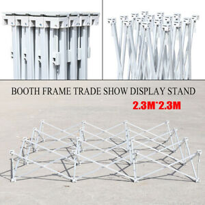 100 New Portable Pop up Booth Frame Trade Show Display Stand 7 5x7 5ft Usa