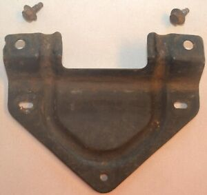 1961 1963 Ford Thunderbird Front Bumper License Plate Mounting Bracket Oem 1962