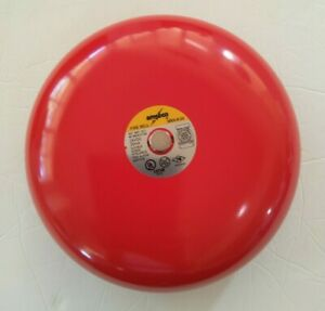 Amseco Mba 8 24 24vdc Alarm Fire Security Bell 8 Red New