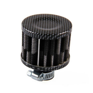 Universal 12mm Breather Air Filter For Oil Catch Tank Crankcase Vent Intake 1pc