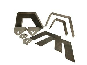 3 16 Universal Weld On 8 Frame Step Notch Air Bag Brackets For Mini Full Size