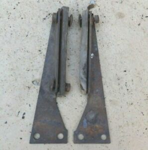 1917 1925 Model T Ford Firewall To Frame Brackets Original Pair