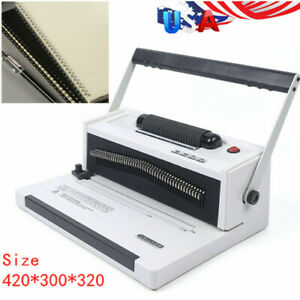 S20a Coil Cutting Crimping Tool Free Pliers Spiral Coil Binding Machine Electric