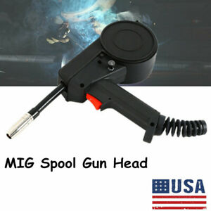 Nozzle Tip Toothed Spool Gun Wire Drawing Welding Torch Hand Welder Torch