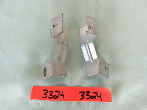 1967 1968 Ford Mustang Console Brackets Pair Original 3324