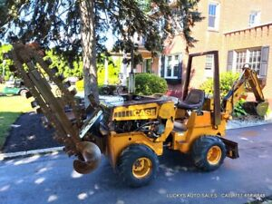 Case 360 Trencher D100 Backhoe Diesel Deutz 1681hrs 4wd Job Site Ready Serviced