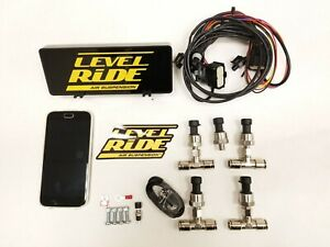Accuair E level E Connect Ecu Upgrade To Level Ride Height Pressure Bluetooth