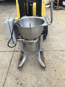 Hobart Hcm 450 45 Quart Tilting Vertical Cutter chopper Mixer 3ph 5hp