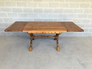 Cushman Colonial Creations Fairfield X Base 86 Dining Extension Table