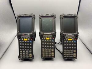 Lot Of 3 Symbol Mc9060 Barcode Scanner b2 N0 2