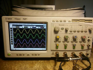 Hp Agilent 54825a 500mhz 2gs s Oscilloscope With Usb Thumb Drive Support