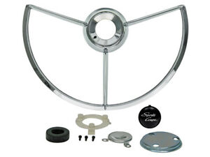 New 1963 Fairlane 500 Horn Ring Kit Sports Coupe Emblem Retainer Ford