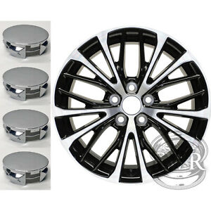 New Set Of 4 Center Caps For 18 Alloy Wheel On 2018 2019 2020 Toyota Camry