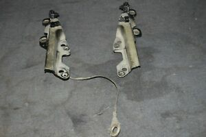 94 04 Ford Mustang Lx Gt Cobra Hood Hinge Hinges Set Pair Left Right Lh Rh Oem