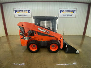 2016 Kubota Ssv65 Skid Steer Wheel Loader With Manual Quick Atttach