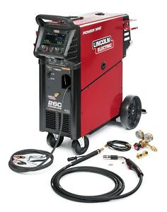Lincoln Electric Power Mig 260 Mig Welder K3520 1
