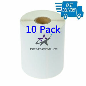 10pack 4x6 Direct Thermal Shipping Labels 250 Per Roll 2500 Labels Fast Shipping
