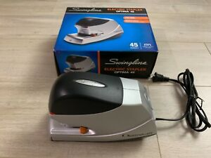 Swingline Optima 45 Automatic Electric Stapler 45 sheet Capacity model 48209