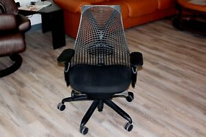 Herman Miller Sayl Office Desk Chair In Black