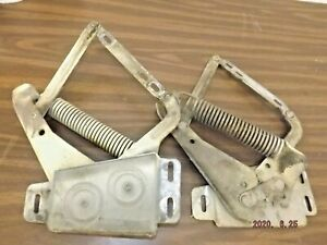1969 Mopar B Body Plymouth Road Runner Satellite Gtx Hood Hinge Set