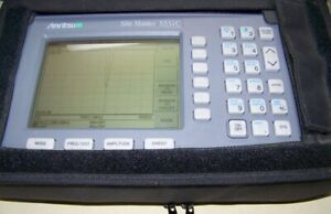 Nice Anritsu S331c Option 5 Site Master With New Battery charger 4ghz Full Test
