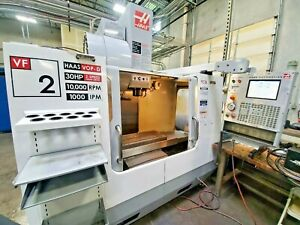 2006 Haas Vf 2 Cnc Vertical Machining Center Side Mount W 30 Hp 10k Rpm Spindle