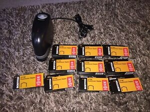 Stanley Bostitch Heavy Duty Electric Stapler Model E66760 With Staples