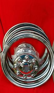 Gmc 3500 Trim Rings And Centers