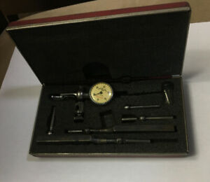 Beautiful Starrett Last Word 711 Dial Test Indicator Set 001 complete Set
