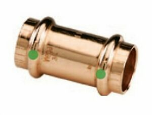Viega Propress 3 4 Copper Coupling With Stops Sku 78052 Bag Of 10 New