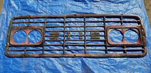 Gmc Truck Center Grille classic Larger Truck Used Ad 8887