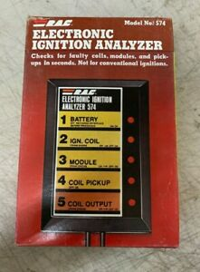 Vintage Nos R A C Universal Electric Ignition Analyzer Model 574